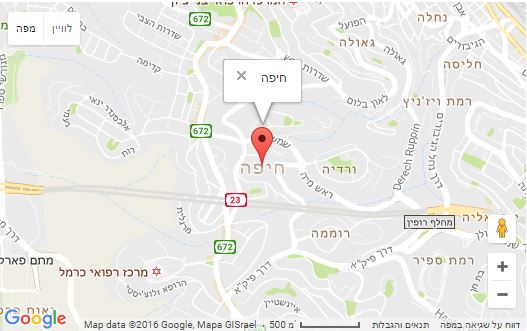 הובלות חיפה מפה